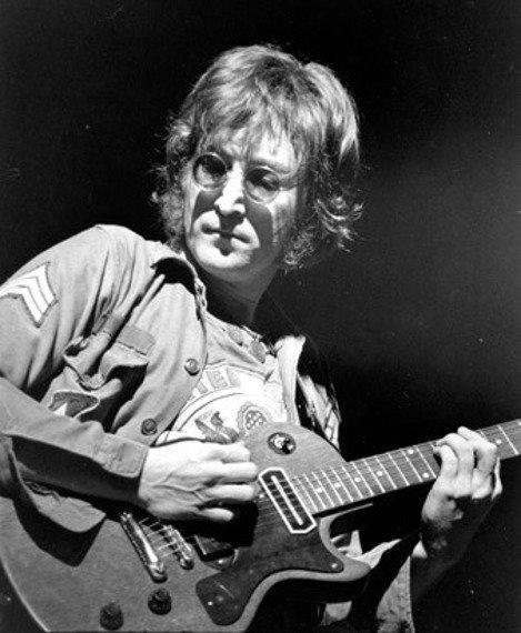 miniaturka gitary THE BEATLES - JOHN LENNON: LES PAUL RED