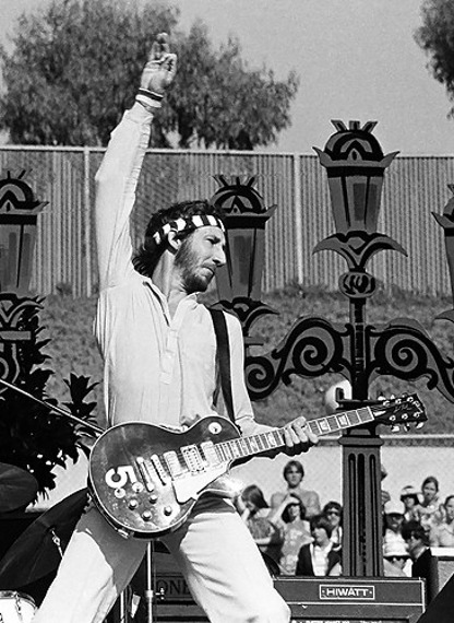 """miniaturka gitary THE WHO - PETE TOWNSHEND: LES PAUL DELUXE """"5"""""""