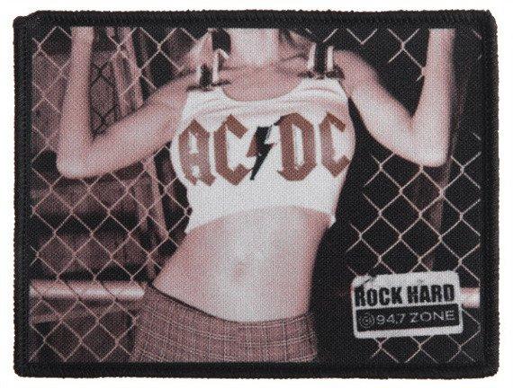 naszywka AC/DC - ROCK HARD
