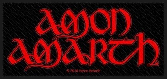 naszywka AMON AMARTH - RED LOGO