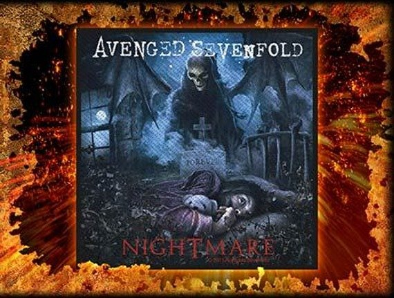 naszywka AVENGED SEVENFOLD - NIGHTMARE