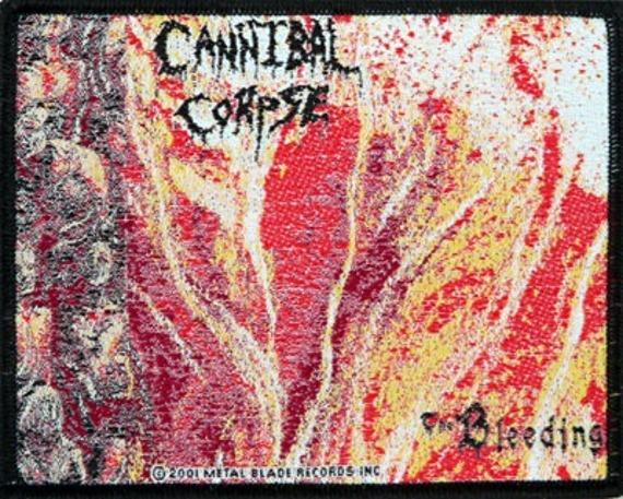 naszywka CANNIBAL CORPSE - THE BLEEDING