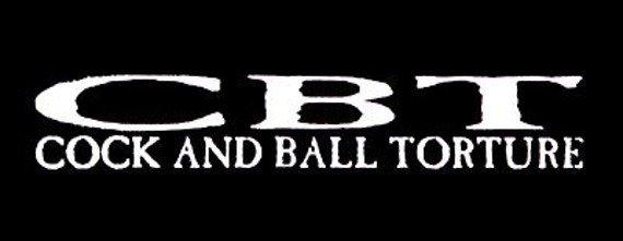 naszywka CBT - COCK AND BALL TORTURE