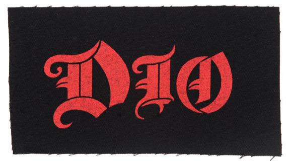 naszywka DIO - RED LOGO
