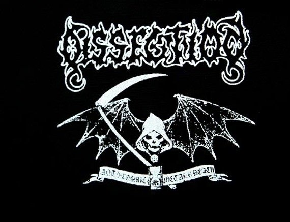 naszywka DISSECTION - ANTI COSMIC METAL OF DEATH