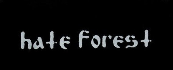 naszywka HATE FOREST - LOGO