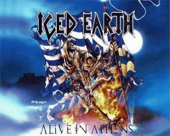 naszywka ICED EARTH - ALIVE IN ATHENS