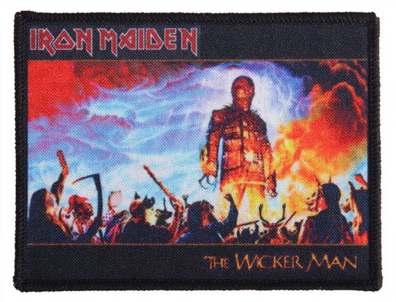 naszywka IRON MAIDEN - THE WICKER MAN