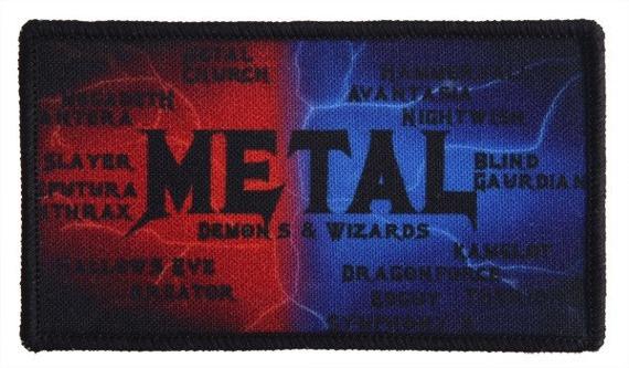 naszywka METAL