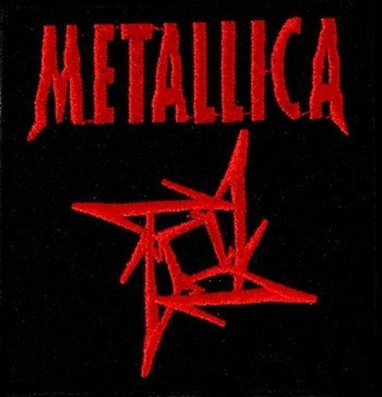 naszywka METALLICA - 4M RED