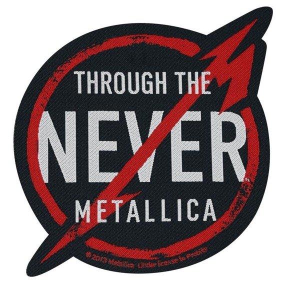 naszywka METALLICA - THROUGH THE NEVER