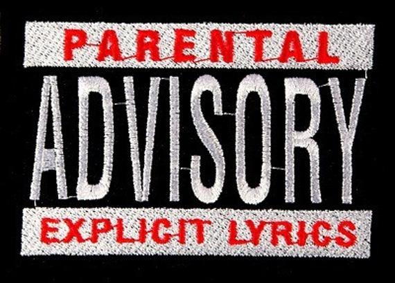 naszywka PARENTAL ADVISORY