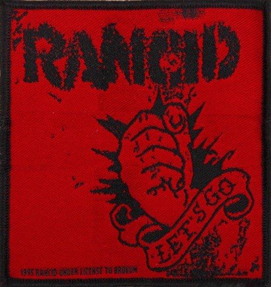 naszywka RANCID - LET'S GO
