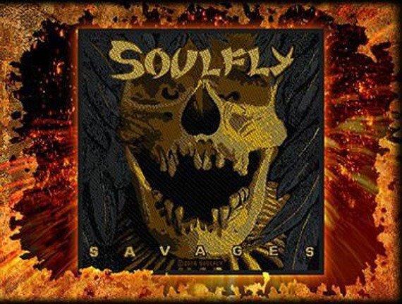naszywka SOULFLY - SAVAGES