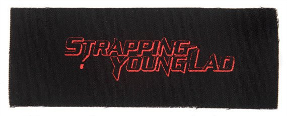 naszywka STRAPPING YOUNG LAD - RED LOGO
