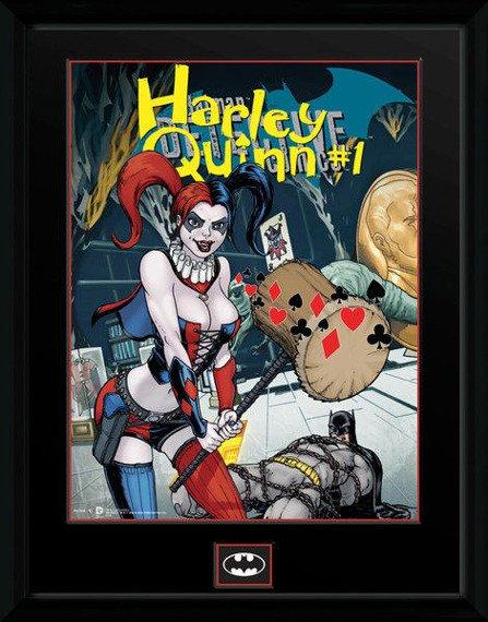 obraz w ramie DC COMICS - HARLEY QUINN HAMMER