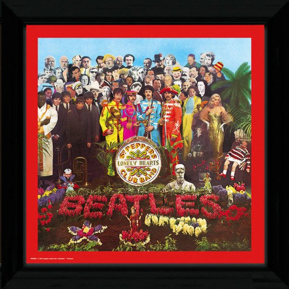 obraz w ramie THE BEATLES - SGT PEPPER