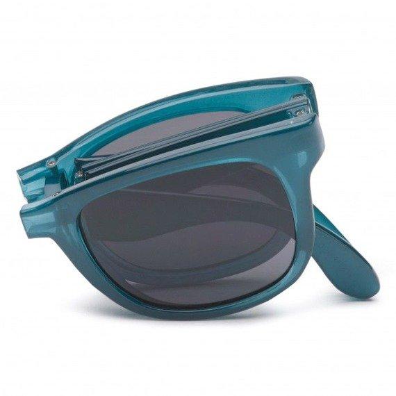 okulary VANS - FOLDABLE SPICOL TRANSPARENT STO