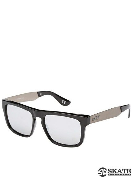 okulary VANS - SQUARED OFF BLACK/SILVER
