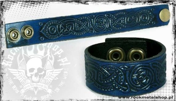 opaska napa 24mm TRIBAL blue