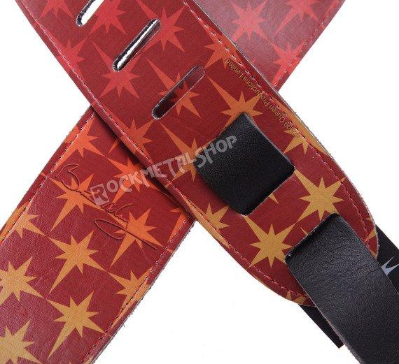 pas do gitary BRIAN MAY - FLARES skórzany, 63mm
