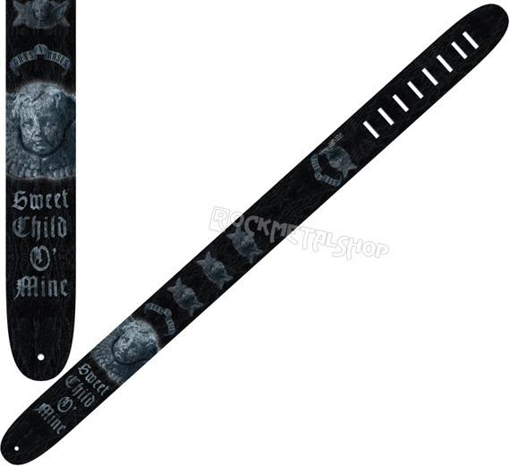 pas do gitary GUNS N'ROSES - SWEET CHILD O' MINE skórzany, 63mm