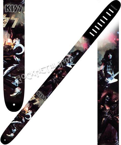 pas do gitary KISS - ALIVE skórzany, 63mm