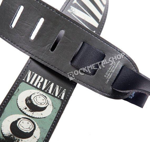 pas do gitary NIRVANA - GUITAR KNOBS skórzany, 63mm