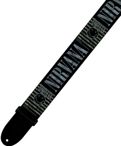 pas do gitary NIRVANA - SMILEY GRUNGE nylon, 50mm