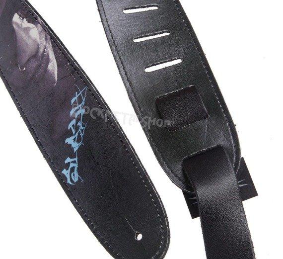 pas do gitary SLASH - FACE skórzany, 63mm