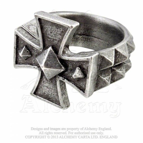 pierścień CROSS OF IRON