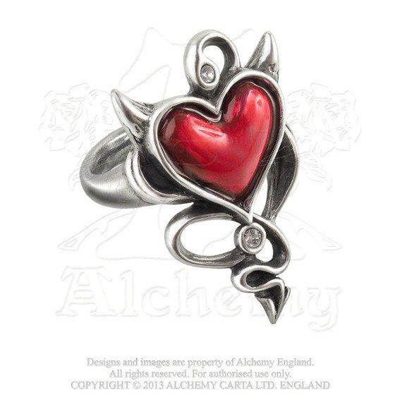 pierścień DEVIL HEART