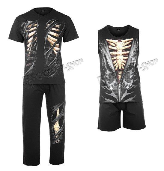 piżama SPIRAL - BONE RIPS zestaw 4-częściowy