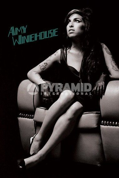 plakat AMY WINEHOUSE - CHAIR