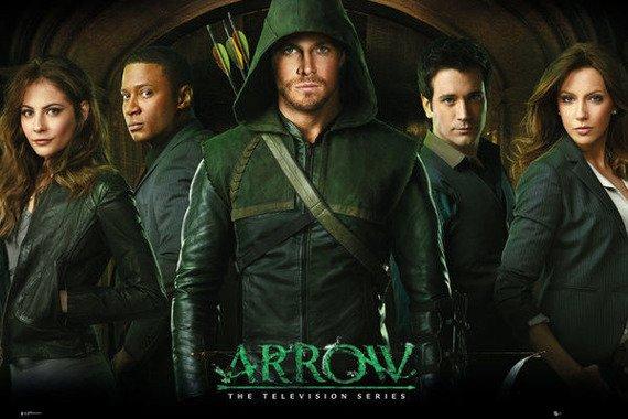 plakat ARROW - GROUP