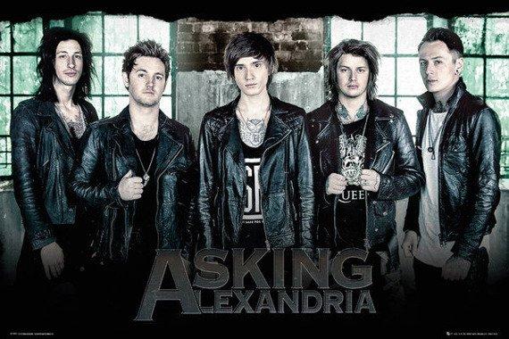 plakat ASKING ALEXANDRIA -  WINDOW