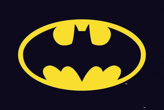 plakat BATMAN CLASSIC - LOGO
