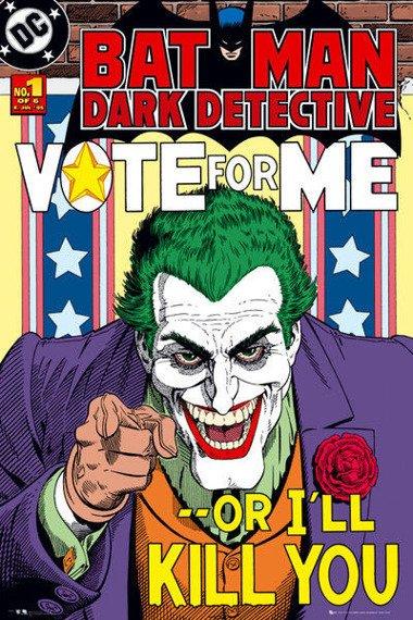 plakat BATMAN COMIC - VOTE FOR ME