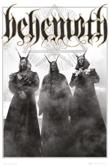 plakat BEHEMOTH - TRIO