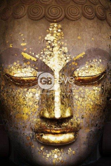 plakat BUDDHA - FACE