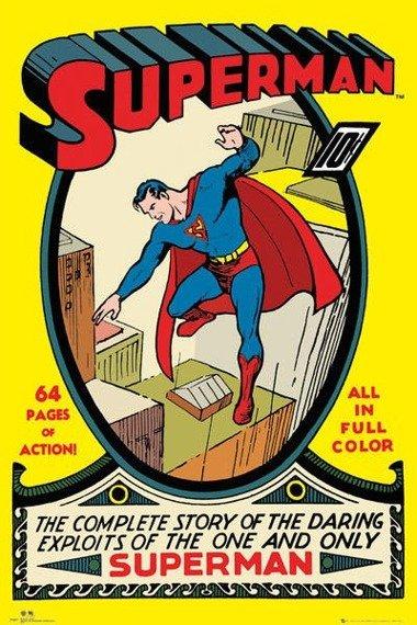 plakat DC COMICS SUPERMAN