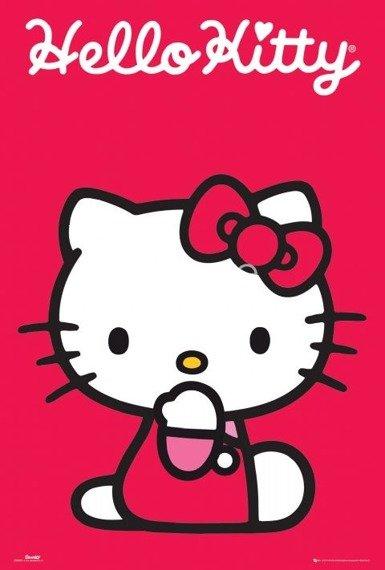plakat HELLO KITTY
