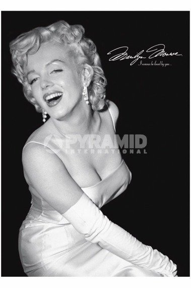 plakat MARILYN MONROE - LOVED BY YOU
