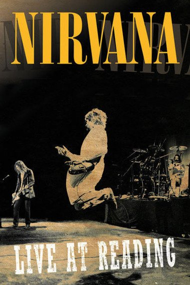 plakat NIRVANA - READING