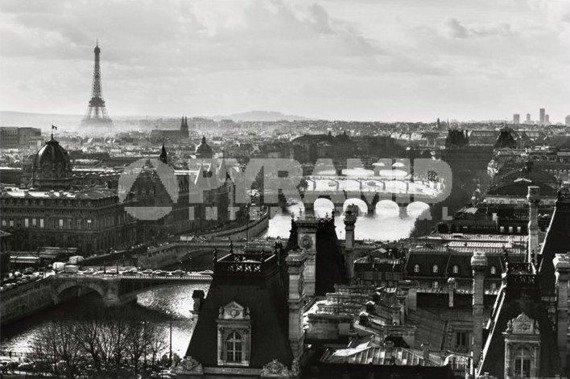 plakat PARIS VIEW