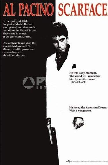 plakat SCARFACE - MOVIE SHEET