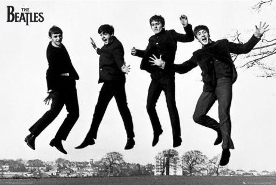 plakat THE BEATLES - JUMP