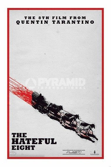 plakat THE HATEFUL 8 - TEASER