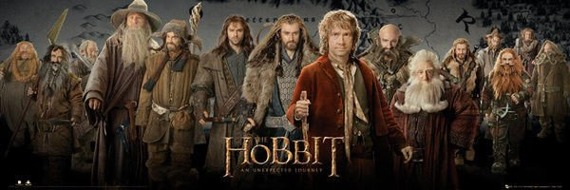 plakat THE HOBBIT - CAST