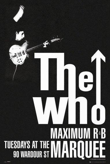 plakat THE WHO - MAXIMUM R&B